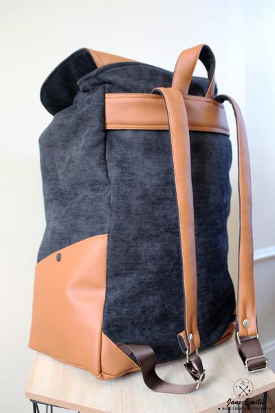 b178a3a8d5 Le Sac à Dos Chléa ⋆ Jane Emilie - Créatrice & Blogueuse Couture